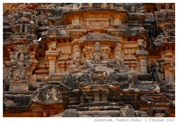 Goprum ruins, Hampi, Karnataka India - S. Deepak, 2011