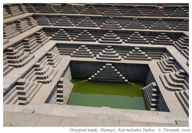 Hampi stepped tank, Bellary, Karnataka, India - S. Deepak, 2011