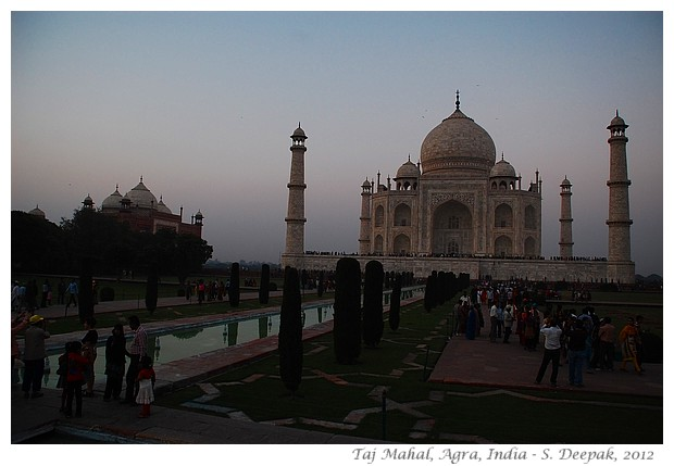Taj Mahal at sunset, India - S. Deepak, 2012