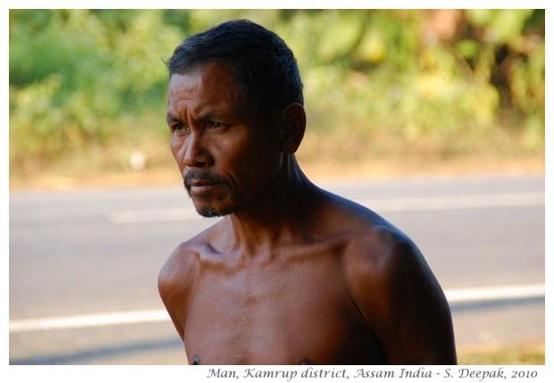 Men, Kamrup district Assam India - images by S. Deepak