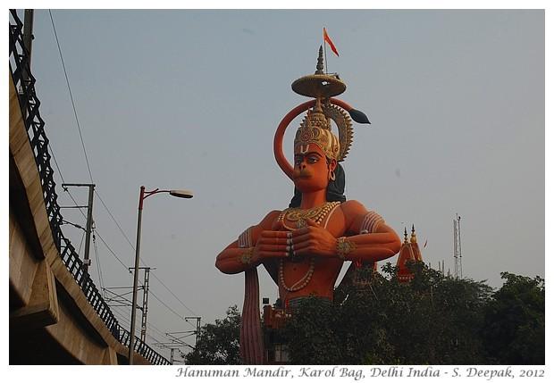 Hanuman temple, Karol Bagh, Delhi, India - S. Deepak, 2012