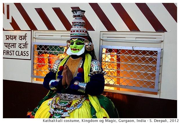 Kathakkali dancer, Kingdom of Magic, Gurgaon India - S. Deepak, 2012