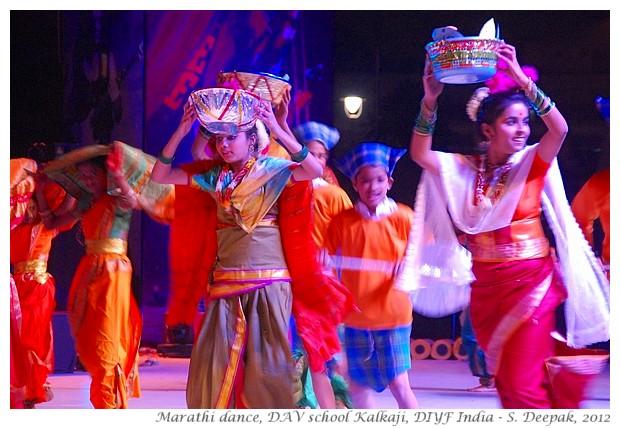 Maharashtrian folk dance, DIYF India - S. Deepak, 2012