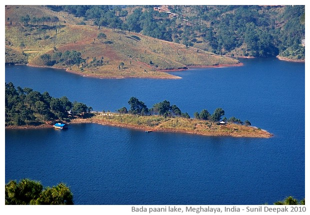 Umiam Barapaani lake, Meghalaya, India - images by Sunil Deepak, 2010