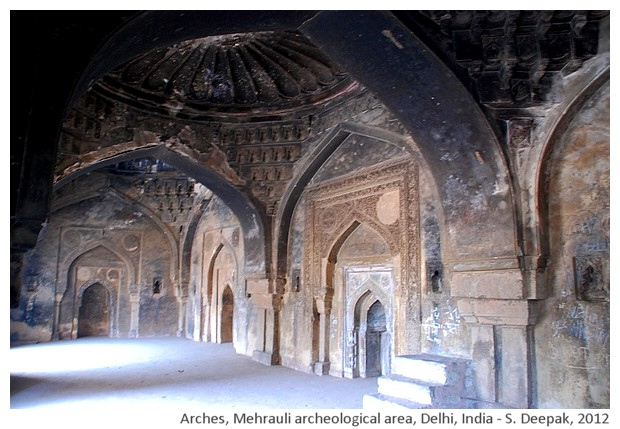 Arches, Mehrauli, Delhi, India - S. Deepak, 2012