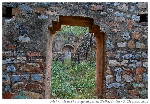 Mughal ruins, Mehrauli archeological park, Delhi, India - S. Deepak, 2012