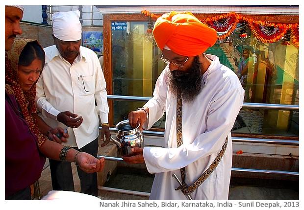 Nanak Jhira Gurudwara, Bidar, India - images by Sunil Deepak, 2013