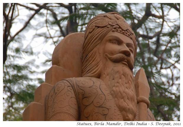 Statues, Birla Mandir Delhi India - S. Deepak, 2011