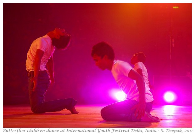 Street kids dance, IYF Delhi, India - S. Deepak, 2011