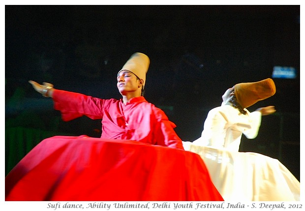 Sufi dancers, Ability Unlimited, DIYF, India - S. Deepak, 2012