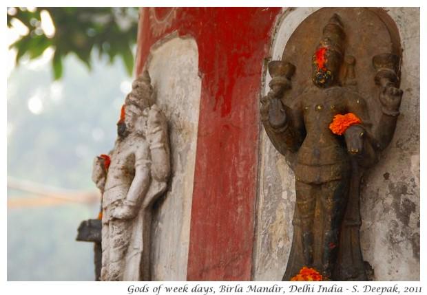 Planet gods, Birla Mandir, Delhi - S. Deepak, 2011