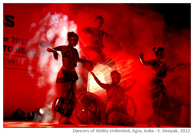 Dancers with disabilities from Ability Unlimited, Agra, India - Image by Sunil Deepak, 2012