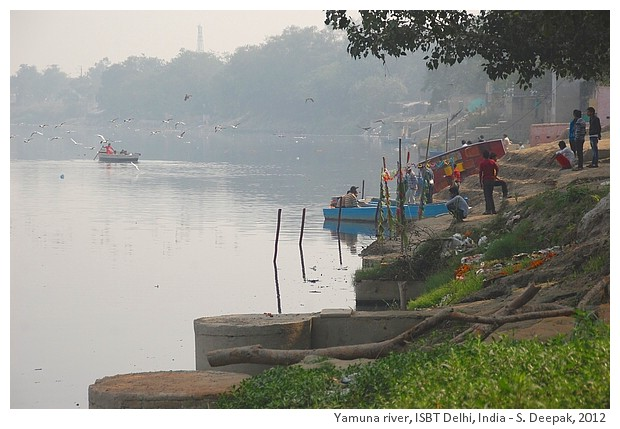 Yamuna river, ISBT Delhi, India - S. Deepak, 2012