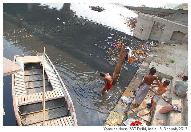 Yamuna river, ISBT Delhi, India - S. Deepak, 2012