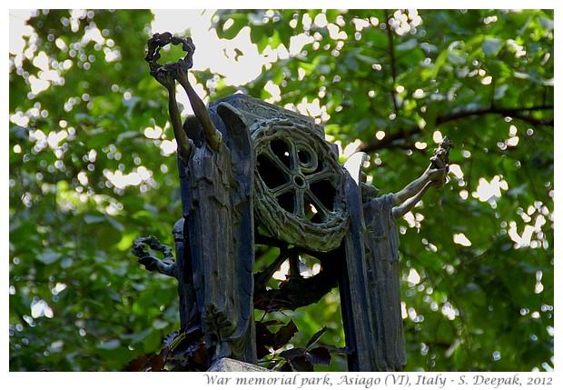 Soldier memorials park, Asiago (Vicenza) Italy - S. Deepak, 2012