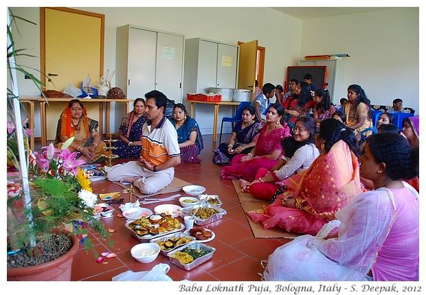 Loknath Baba Puja, Bologna, Italy - S. Deepak, 2012