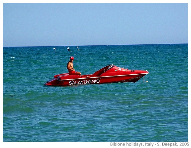 Holidays in Bibione, Italy - images by Sunil Deepak, 2005