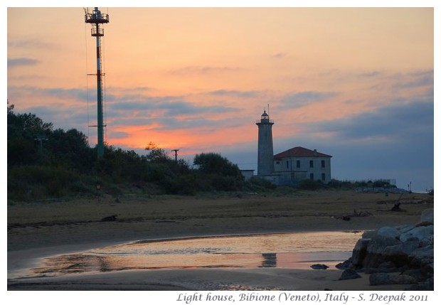 Light house, Bibione Veneto, Italy - Images by S. Deepak