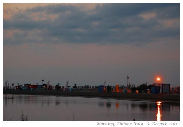 Bibione, Italy, early morning - S. Deepak, 2011