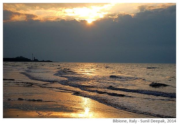Seaside, Bibione, Italy - images by Sunil Deepak, 2014