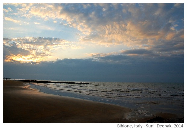 Seaside, Bibione, Italy - images by Sunil Deepak, 2014