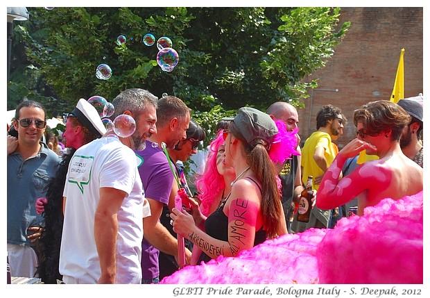 GLBTI Pride Bologna - S. Deepak, 2012