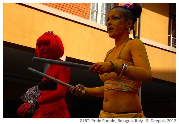 Bologna GLBTI Pride Parade, Italy - S. Deepak, 2012