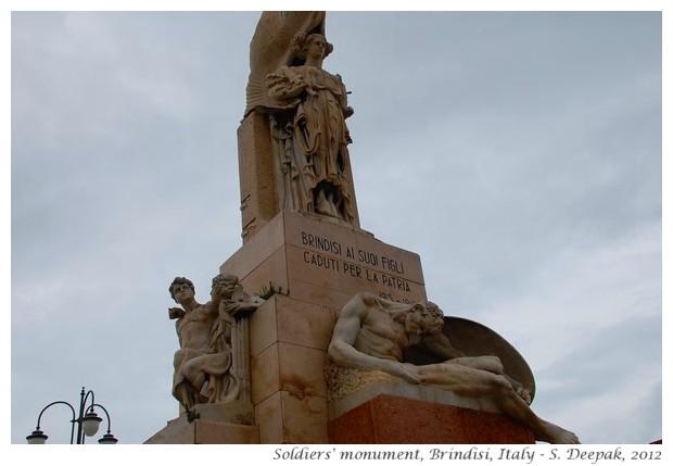 War monument, Brindisi, Italy - S. Deepak, 2012