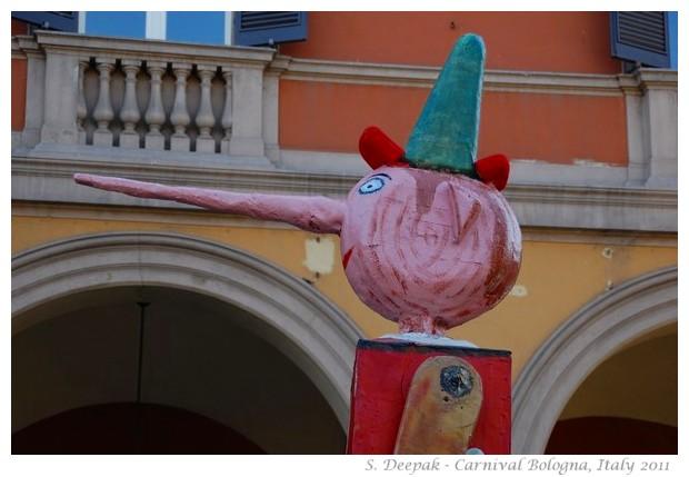 Bologna carnival, Italy 2011