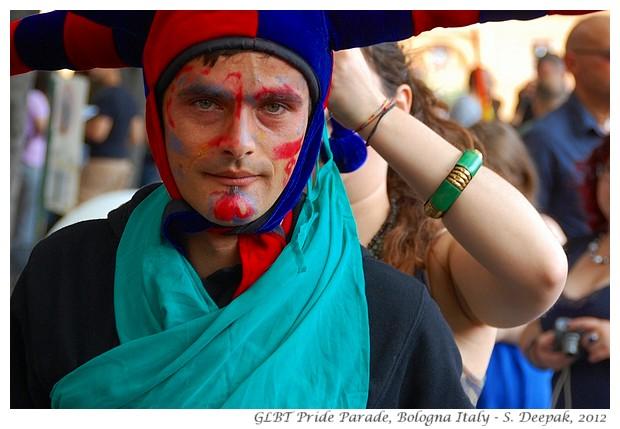 Gay pride parade Bologna Italy - S. Deepak, 2012