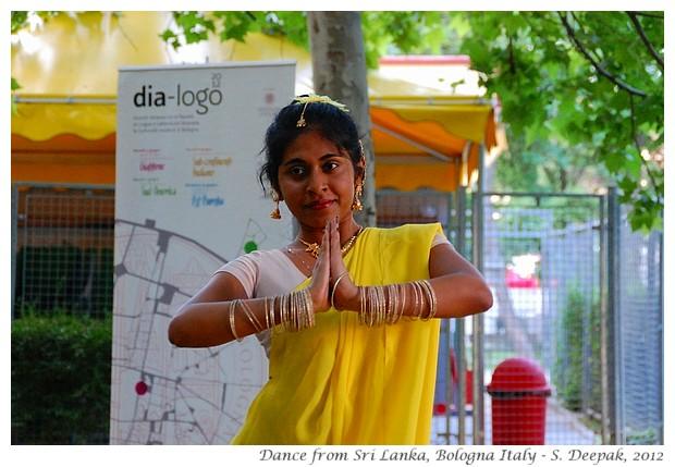 Sri Lankan Dancer, Bologna Italy - S. Deepak, 2012