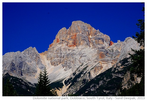 Fanes Dolomite national park, South Tyrol, Italy - images by Sunil Deepak, 2013