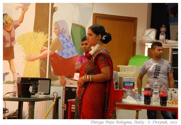 Bengali woman, DurgaPuja Bologna, Italy - S. Deepak, 2011