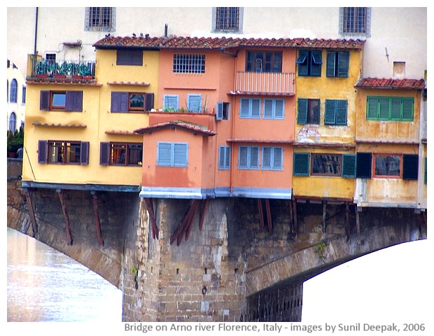 Places to see in Florence, Italy - images by Sunil Deepak, 2006