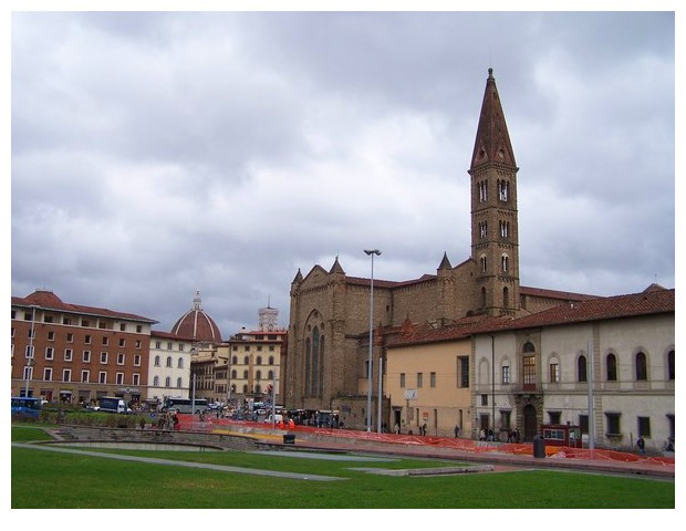 Italy, Florence, church bell towers