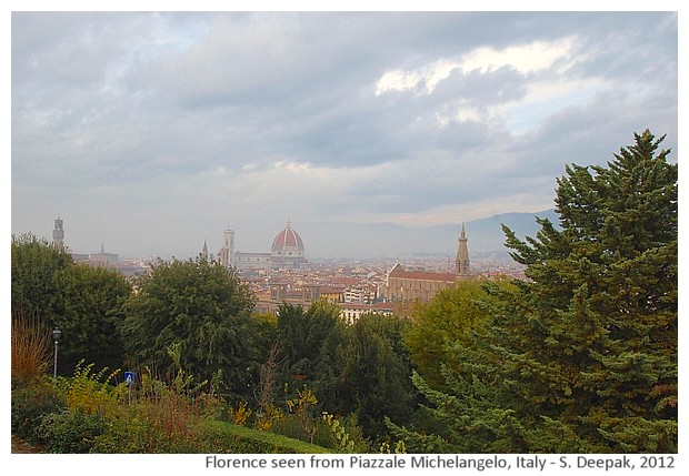 Florence from Michelangelo square, Italy - S. Deepak, 2012