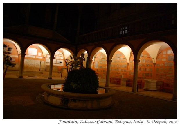Fountain, Palazzo Galvani, Bologna, Italy - S. Deepak, 2012