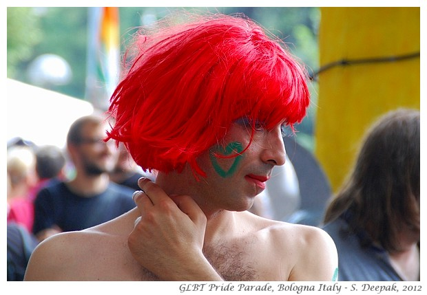 People, Gay Pride Parade Bologna Italy - S. Deepak, 2012