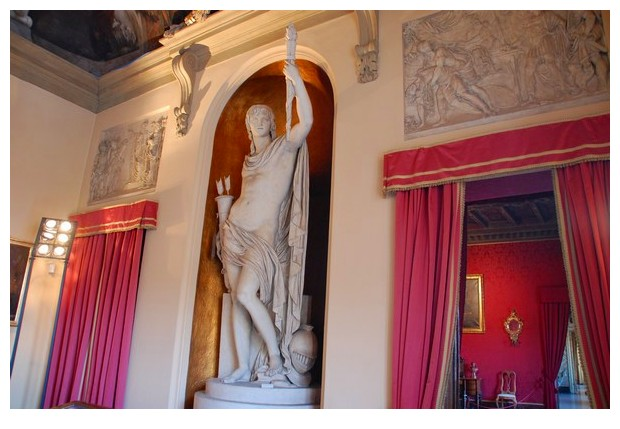 Genius, scuplture of Giacomo de Maria in Municiple Art Collection of Bologna, Italy