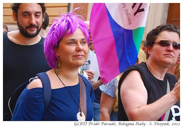 GLBTI Pride parade, Bologna, Italy - S. Deepak, 2012