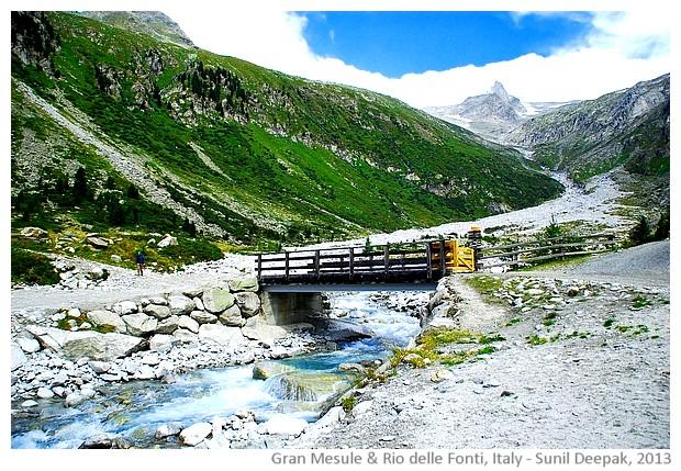 Gran Mesule mountain, Alto Adige, Italy - images by Sunil Deepak
