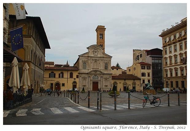 Hercules in Ognisanti square, Florence, Italy - S. Deepak, 2012