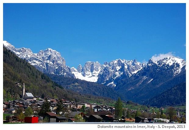 Dolomite mountains, Imer, Italy - S. Deepak, 2013