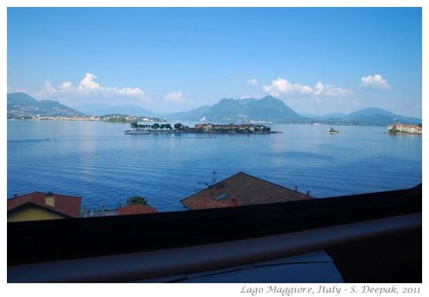 Lago Maggiore seen from train, Italy - S. Deepak, 2011