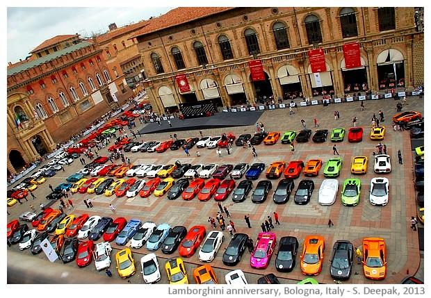 Lamborghini anniversary exhibition, Bologna, Italy - images by Sunil Deepak, 2013