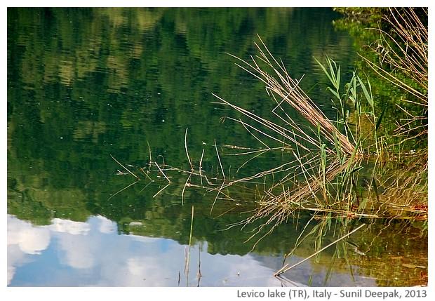 Levico lake (Trento), Italy - images by Sunil Deepak, 2013
