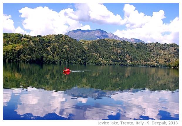 Levico lake, Trento, Italy - S. Deepak, 2013
