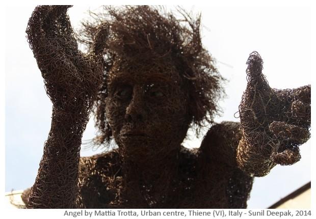 Angel by Mattia Trotta, Urban centre, Thiene (VI), Italy - images by Sunil Deepak, 2014