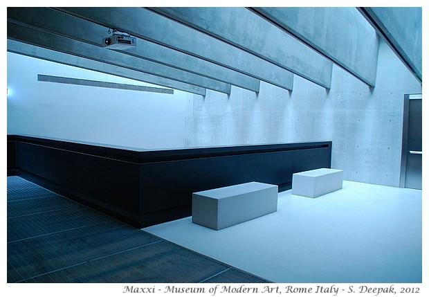 Maxxi, modern art museum Rome - S. Deepak, 2012