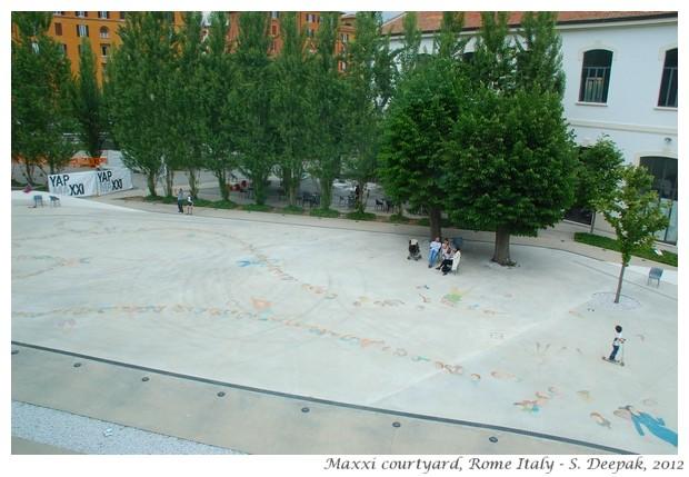 Maxxi in Rome, Italy - S. Deepak, 2012